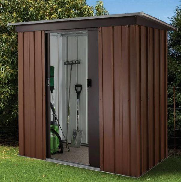 yardmaster metall ger tehaus ger teschuppen gartenhaus. Black Bedroom Furniture Sets. Home Design Ideas