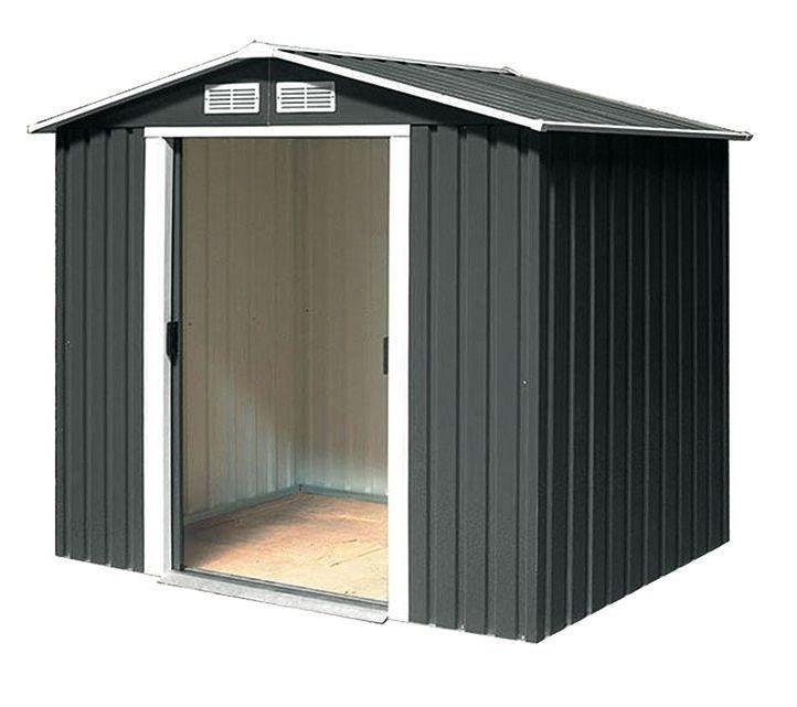 metall ger tehaus ger teschuppen gartenhaus riverton 6x4 2. Black Bedroom Furniture Sets. Home Design Ideas