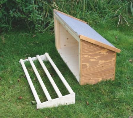 h hnerstall mit anbau sitzstangen und freilauf agrarbedarf. Black Bedroom Furniture Sets. Home Design Ideas