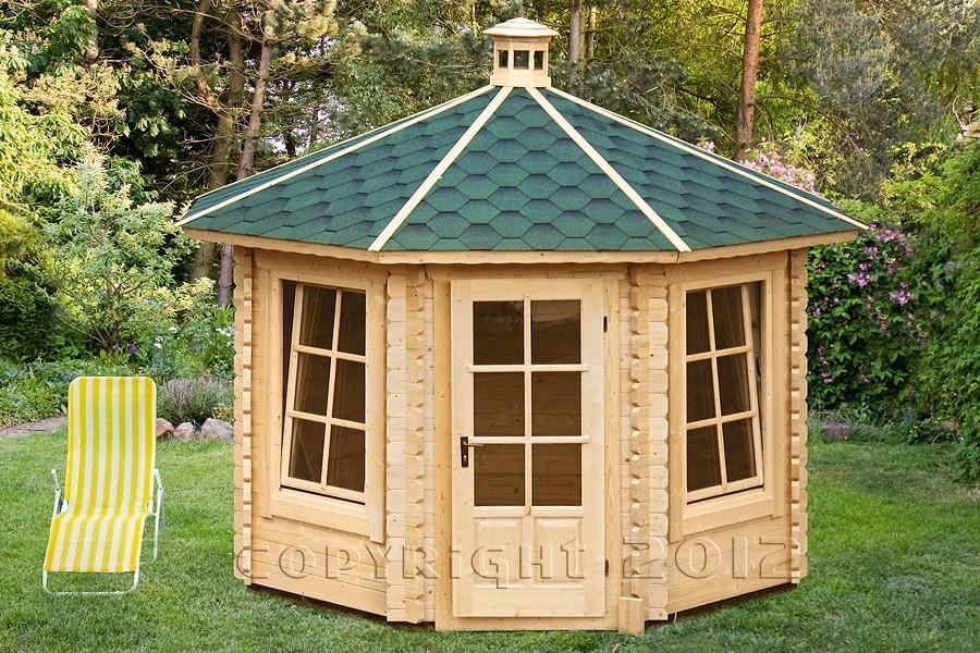 8 eck aussen blockhaus sauna wannsee 314 x 314 cm typ2 neu haus garten sauna sauna aussen. Black Bedroom Furniture Sets. Home Design Ideas