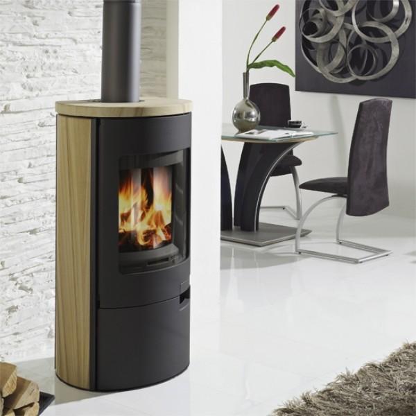 koppe raumluftunabh ngiger kaminofen gismo 5 eco sandstein. Black Bedroom Furniture Sets. Home Design Ideas