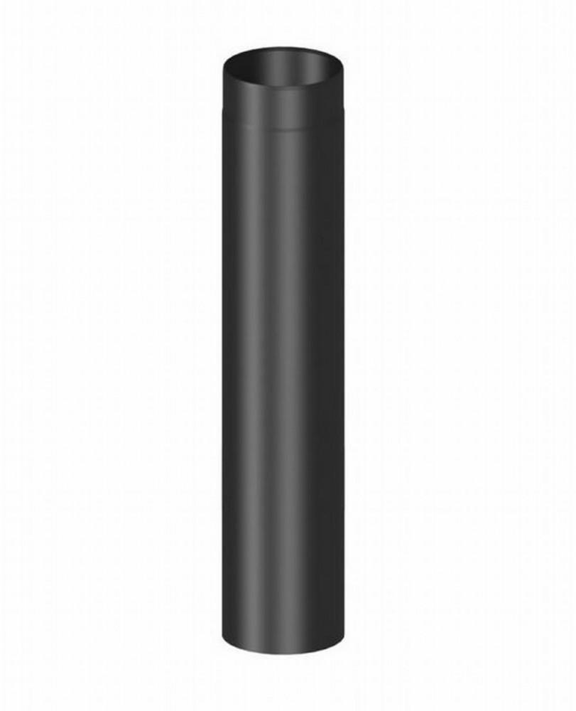 rauchrohr verl ngerungsrohr 120mm l nge 1000 mm schwarz. Black Bedroom Furniture Sets. Home Design Ideas