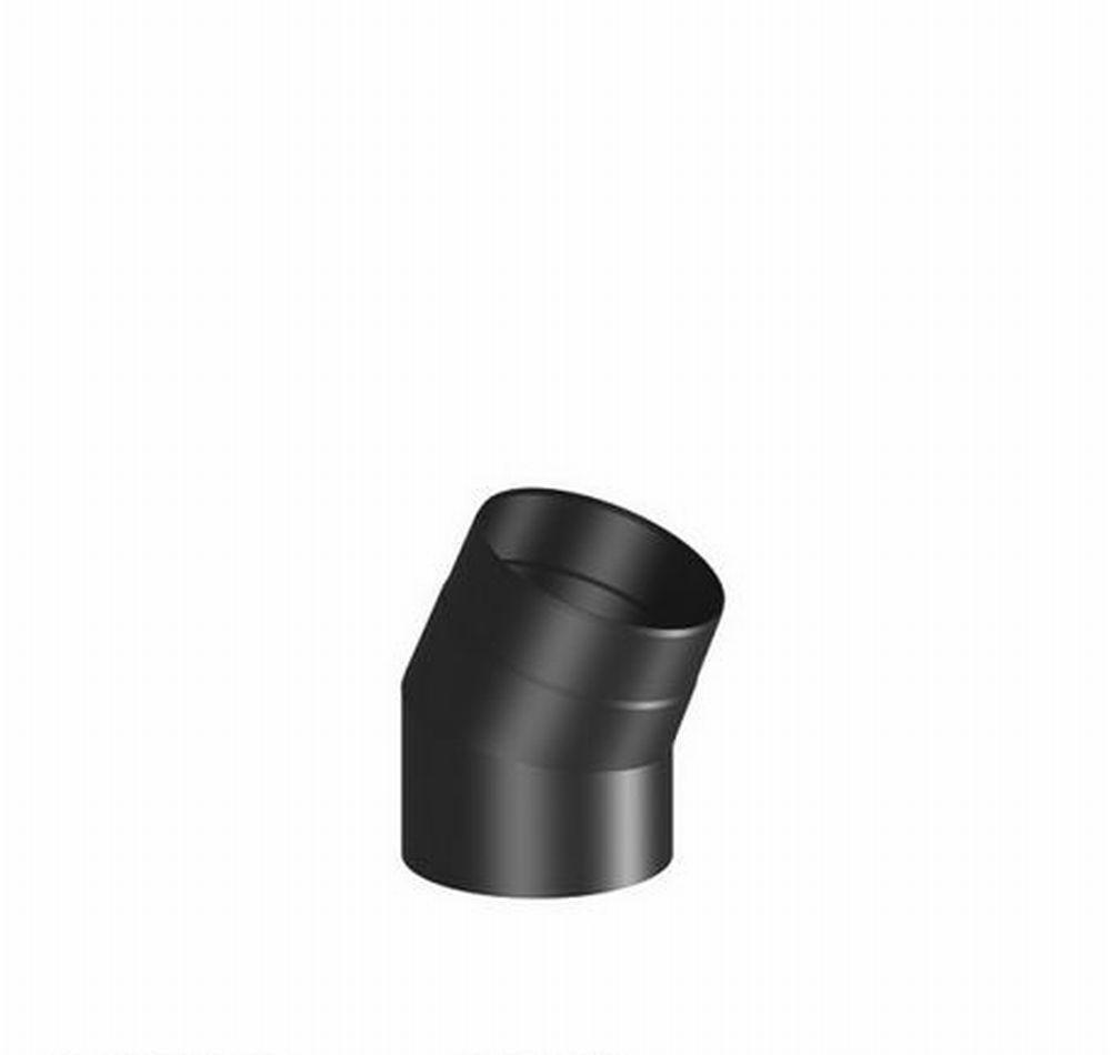 rauchrohr 150 mm 30 bogen schwarz senotherm lackiert rohrbogen ofenrohr kaminofen feuerstelle. Black Bedroom Furniture Sets. Home Design Ideas