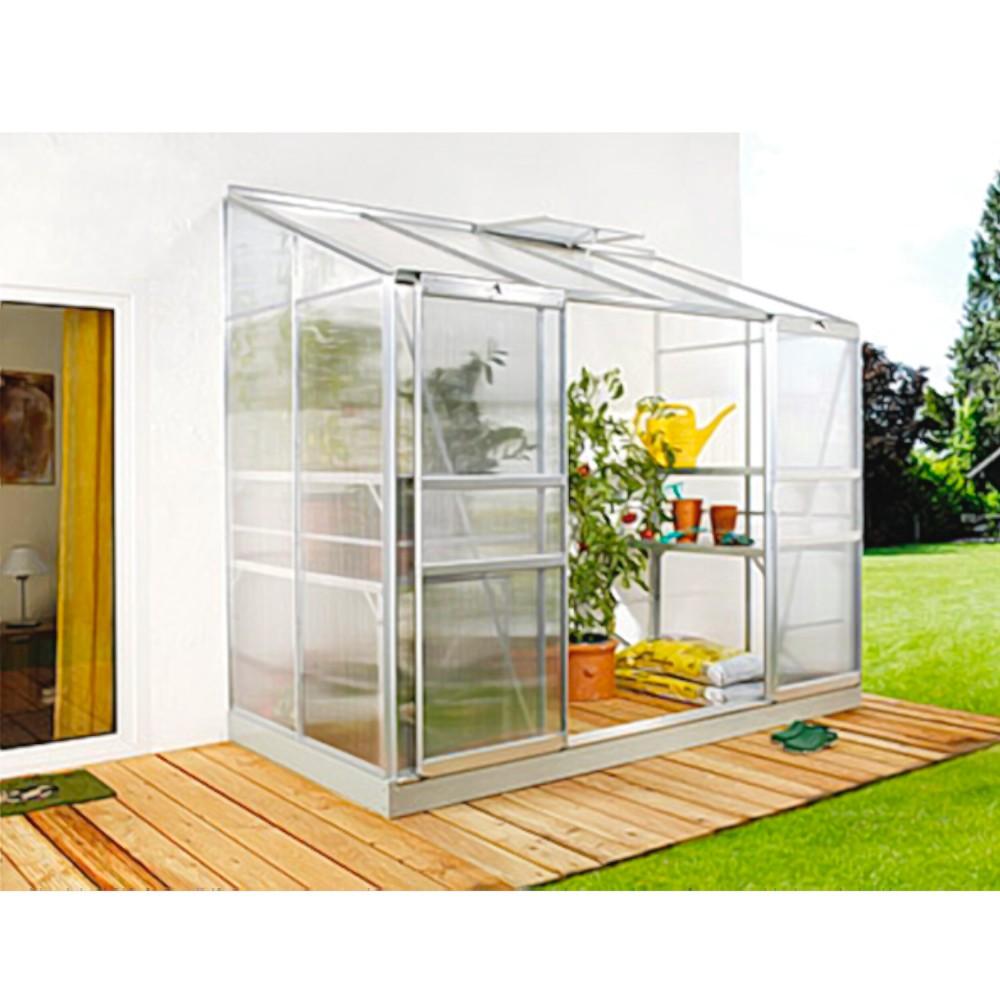 ida 3300 anlehngew chshaus hkp 4 mm balkon gew chshaus 3 3 m mit fundament neu haus garten. Black Bedroom Furniture Sets. Home Design Ideas