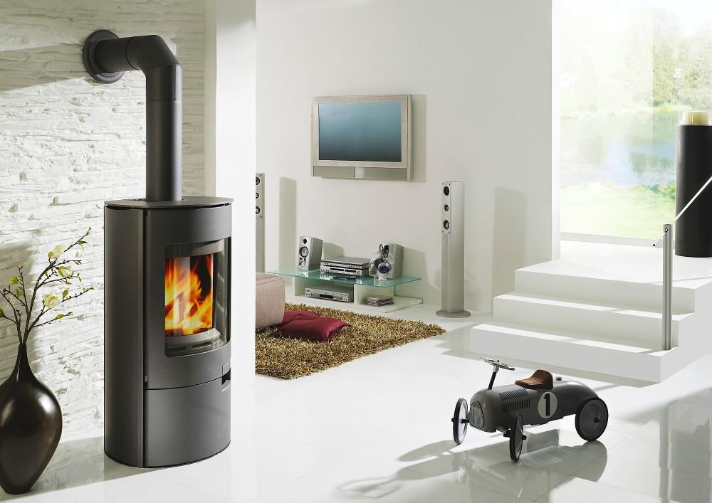 koppe raumluftunabh ngiger stahl kaminofen gismo 5 eco 5 kw schwarz kaminofen feuerstelle koppe. Black Bedroom Furniture Sets. Home Design Ideas