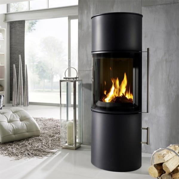 koppe kaminofen nexus midi 7 stahl 7 kw ofen kamin neu. Black Bedroom Furniture Sets. Home Design Ideas