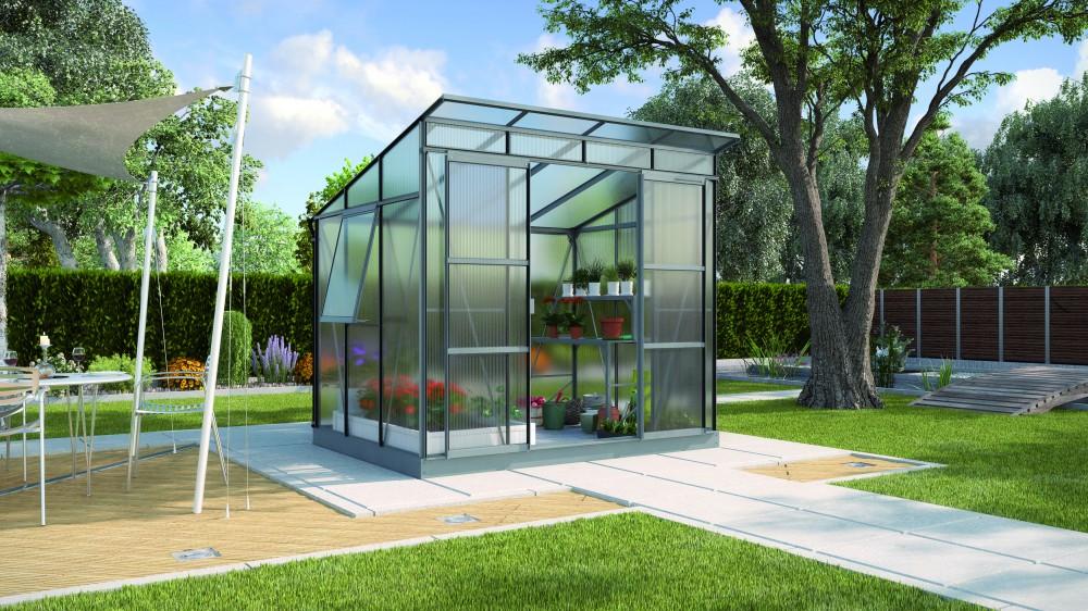 freya 5900 alu gew chshaus hkp 6mm treibhaus anthrazit gartenhaus inkl fundament. Black Bedroom Furniture Sets. Home Design Ideas